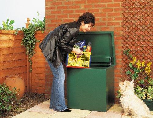 Parcel Box/ Home Delivery Box (Assembled) - secure Drop Box for large parcel deliveries.