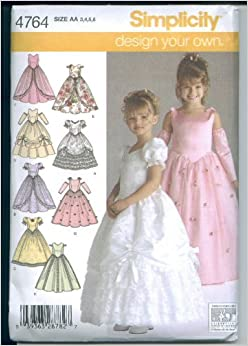 simplicity 4764 girls special occasion dress simplicity