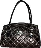 Yumlookup Women's Hand-held Bag Black SCA17BLACK
