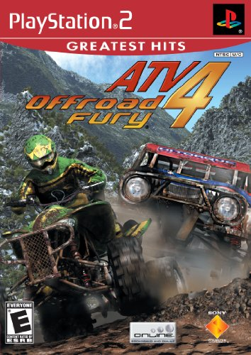 Atv Offroad Fury 4 - Playstation 2 front-330845