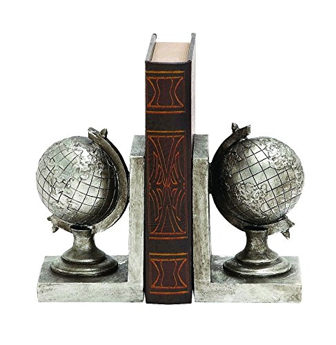 Woodland Imports 78814 Exclusive Globe Classic Bookend (Classic Bookends compare prices)