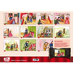 Kamishibai Bildkartenset Dornröschen - Bildkarten für unser Erzähltheater (Märchen fü