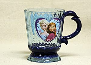 Amazon.com | Disney Frozen Elsa & Anna Glitter Cup: Coffee Cups & Mugs