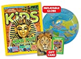 National Geographic Kids Magazine 12 Month Gift Subscription Pack