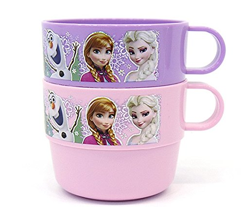 Disney Frozen Kid Plastic Handle Cup 2P 042721. - 1