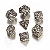Q workshop Forest Dice set - White and Black