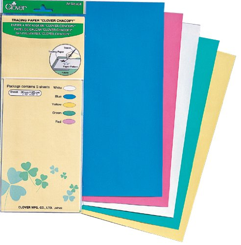 "Great Features Of Clover Tracing Paper ""Chacopy"", 5 ea."