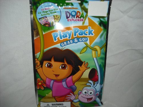 Nickelodeon Dora The Explorer Play Pack Grab & Go with Boots - 1