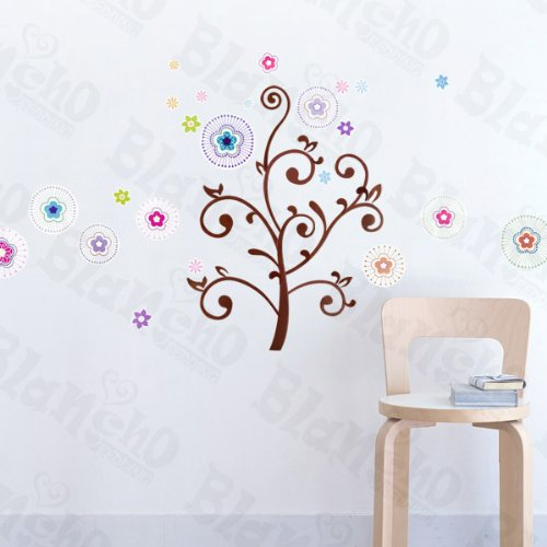 Magical Tree - Wall Decals Stickers Appliques Home Decor