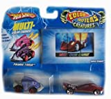 Mattel Hot Wheels Colour Shifter Power Creatures Assortment (2 Pack)