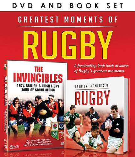 Great Moments of Rugby (DVD/Book Gift Set)