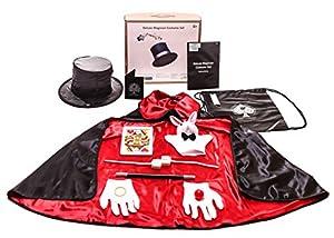 Deluxe Magician costume set - 12 pcs + drawstring bag