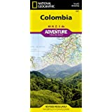 Colombia Adventure Map