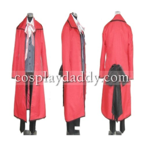 Black Bulter Grell Sutcliff Cosplay Costume
