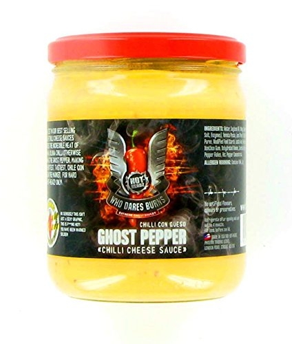 Who Dares Burns! Ghost Pepper Queso