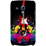 Music And Guitar Hard Polycarbonate Designer Back Case Cover For Samsung Galaxy S3 Mini I8190 :: Samsung I8190 Galaxy S III Mini :: Samsung I8190N Galaxy S III Mini