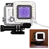 Bestlight® USB Port 20 LED Ring Shooting Night Flash Light Works With Standard Waterproof Housing For GoPro Hero...
