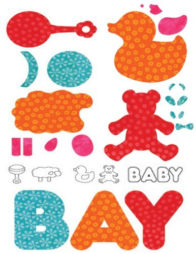 Baby Themed 3 Die Set For The Accuquilt Go! Fabric Cutter front-503380