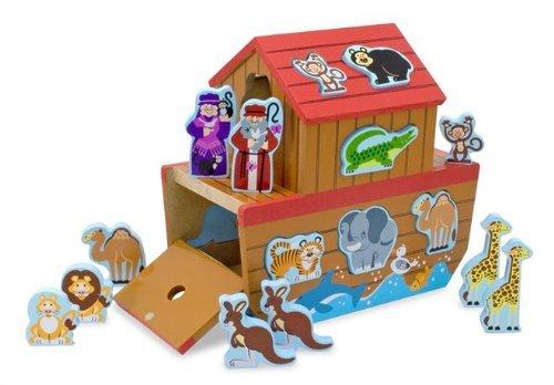 "Noah's Ark Shape Sorter 11.6"""