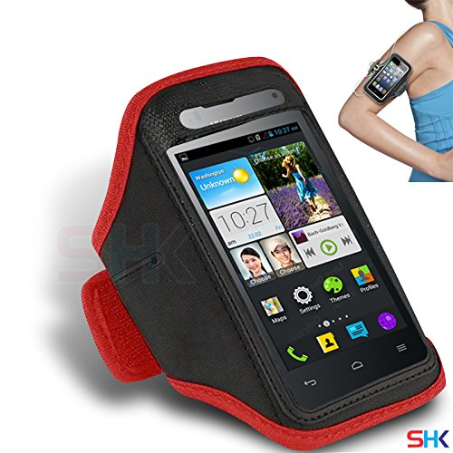 huawei-ascend-y300-rouge-cycle-brassard-sport-gym-velo-reglable-execution-jogging-sport-cover-case-h