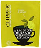 Clipper Organic Infusion Lemon and Ginger Enveloped 250 Teabags 625 G