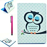 iPad Case, iPad 2/3/4 Case, High Quality PU Leather Case [Stand Feathure] [Wake/Sleep Function] with Samrt Cover [Scratch Proof] Protecive Folio Cover for Apple iPad 2/3/4 (Come with One Stylus Pen)(Olw Baby)