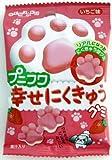扇雀飴本舗 プニフワ幸せにくきゅうグミ 20g×10袋