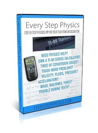 Physics App for TI-89 & Titanium Calculator