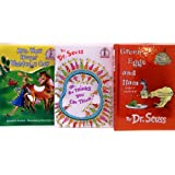 Dr. Seuss Three Book Set (Green Eggs and Ham; Oh, The Thinks You Can Think; Mrs. Wow Never Wanted a Cow) ~ Dr. Seuss
