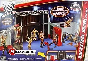 WWE BACKSTAGE BRAWL PLAYSET - MATTEL TOY ACTION FIGURE WRESTLING PLAYSET by MATTEL