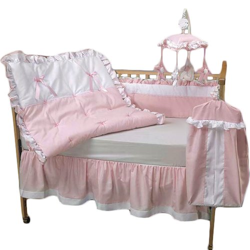 Baby Doll Bedding Regal Crib Bedding Set, Pink