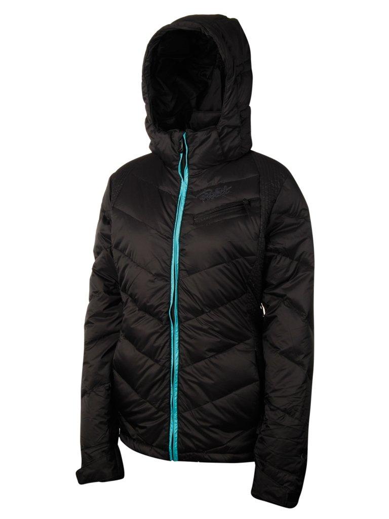 Brilliant Protest Damen ski Jacke schwarz Schwarz X-Small/34