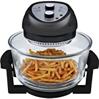 Big Boss 6-Quart 1300W Oil Less Fryer (Black)