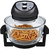 Big Boss 1300-Watt Oil-Less Fryer, 16-Quart, Black