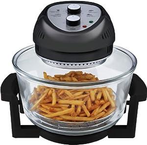 Big Boss 9065 1300-watt Oil-Less Fryer, 16-Quart, Black by Big Boss