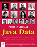 img - for By Carl Calvert Bettis Professional Java Data: RDBMS, JDBC, SQLJ, OODBMS, JNDI, LDAP, Servlets, JSP, WAP, XML, EJBs, CMP2.0 [Paperback] book / textbook / text book