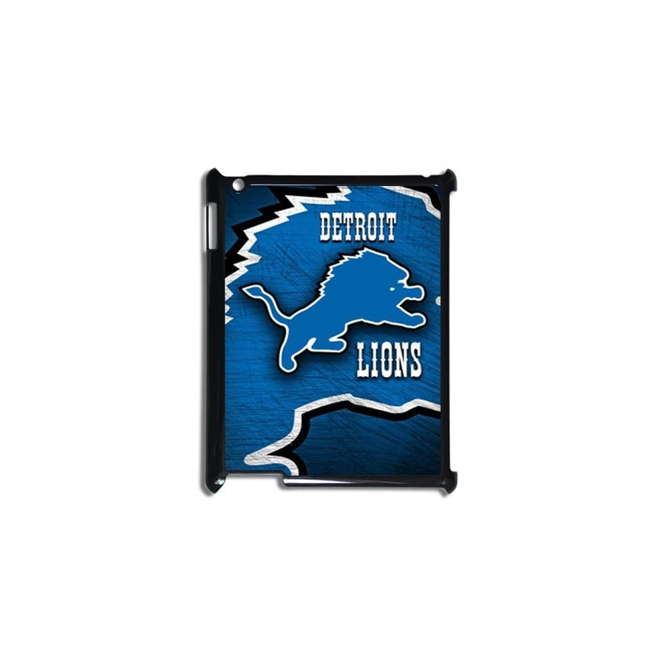 Unique Fashion NFL Detroit Lions Customized Personalized DIY Hardshell Vogue Case for ipad 3 Cell Phones & Accessories