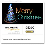 Funky Christmas Tree - E-mail Amazon.co.uk Gift Voucher