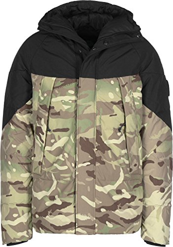 Element Black Sky Puffa Piumino camo