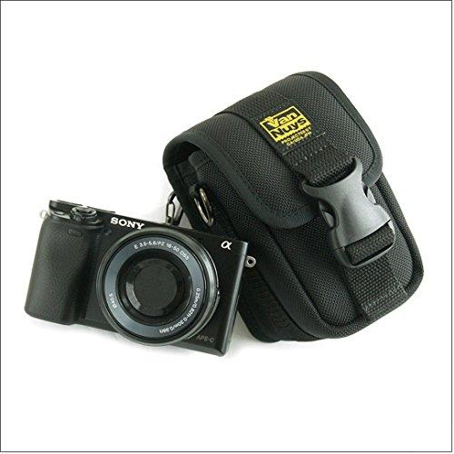 バンナイズ カメラバッグ に 見えない 完全無欠 の カメラ 用 バッグ / Type - A SONY α6000 用 ( バッグ 用 ストラップ 付き ) ( バリスティック ナイロン 製 / ブラック )