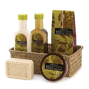 Eco Balance Health Beauty Bath Gift Basket Lotion Set