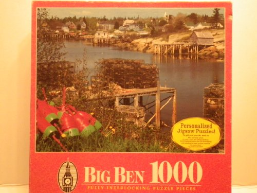 Big Ben 1000 Piece Jigsaw Puzzle - Corea, ME