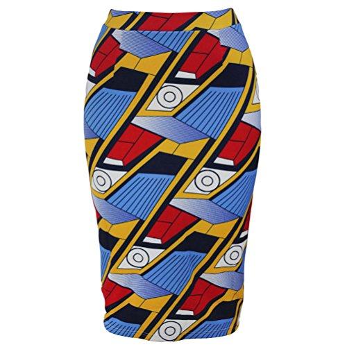 christmas-tomyork-african-fashion-print-bodycon-midi-skirt