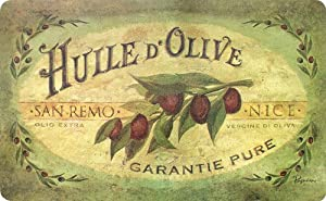 Cushion Comfort Kitchen Anti Fatigue Floor Mat: Vintage Olive Oil