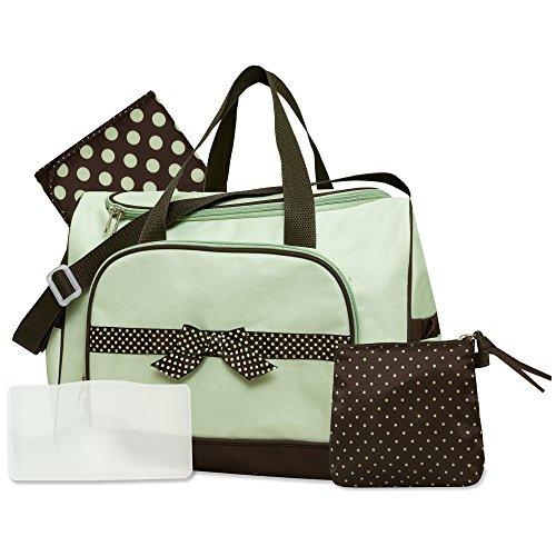 Baby Essentials Sage 4 in 1 Diaper Bag