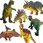 6pcs Animaux Dinosaures Jouet Educati...
