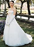SAMPLE: Tulle Over Satin Wedding Dress with Metallic Embroidery Style AI10011829