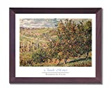 Claude Monet French Landscape Flowers Picture Framed Art Print