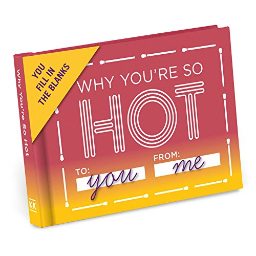 Knock Knock Why You're So Hot Fill in The Love Journal (50070)