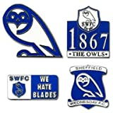 Sheffield Weds Pin Badges